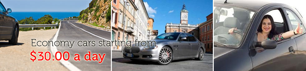 cheap car rentals in italy
